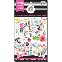 Me & My Big Ideas Create 365 The Happy Planner Today Is The Day Value Pack Stickers PPSV-05