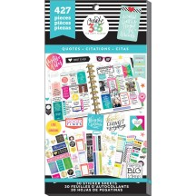 Me & My Big Ideas Create 365 The Happy Planner Quotes Value Pack Stickers PPSV-08