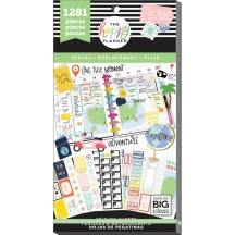 Me & My Big Ideas The Happy Planner Travel Value Pack Stickers PPSV-100