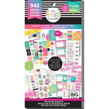 Me & My Big Ideas The Happy Planner Sassy Plans Value Pack Stickers PPSV-101