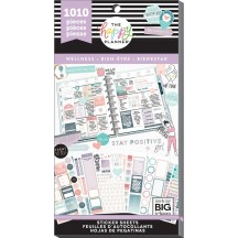 Me & My Big Ideas Create 365 The Happy Planner Wellness Value Pack Stickers PPSV-111
