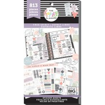 Me & My Big Ideas The Happy Planner Free Spirit Value Pack Stickers PPSV-114
