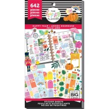 Me & My Big Ideas The Happy Planner Happy Year Value Pack Stickers PPSV-120