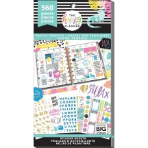 Me & My Big Ideas The Happy Planner Pastel Tropics Value Pack Stickers PPSV-132