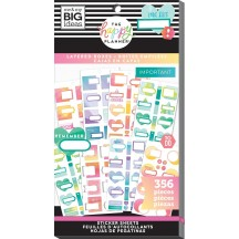 Me & My Big Ideas The Happy Planner Layered Boxes Value Pack Stickers PPSV-154