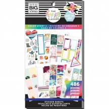 Me & My Big Ideas The Happy Planner Color Story 4 Value Pack Stickers PPSV-160