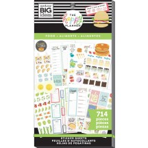 Me & My Big Ideas The Happy Planner Yum Food Value Pack Stickers PPSV-166
