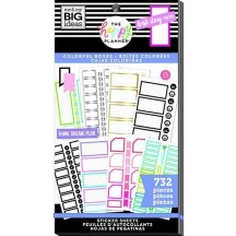 Me & My Big Ideas The Happy Planner Colorful Boxes Value Pack Stickers PPSV-93