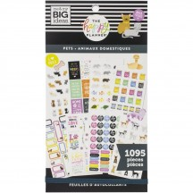 Me & My Big Ideas The Happy Planner Pets Fur Babies Value Pack Stickers PPSV-169