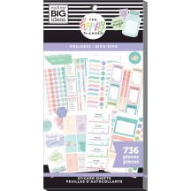 Me & My Big Ideas The Happy Planner Wellness Value Pack Stickers PPSV-172
