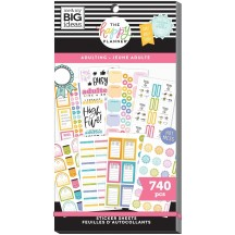 Me & My Big Ideas The Happy Planner Adulting Value Pack Stickers PPSV-191