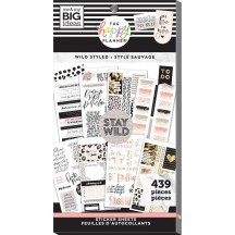 Me & My Big Ideas The Happy Planner Wild Styled Value Pack Stickers PPSV-201