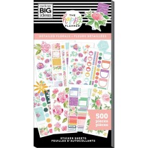 Me & My Big Ideas The Happy Planner Detailed Florals Value Pack Stickers PPSV-204X
