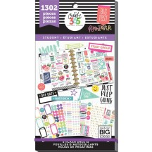 Me & My Big Ideas The Happy Planner Fri YAY Student Value Pack Stickers PPSV-26