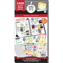 Me & My Big Ideas Create 365 The Happy Planner Sports Value Pack Stickers PPSV-55