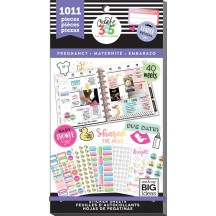Me & My Big Ideas Create 365 The Happy Planner Pregnancy Value Pack Stickers PPSV-56