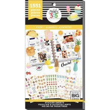 Me & My Big Ideas Create 365 The Happy Planner Food Value Pack Stickers PPSV-57