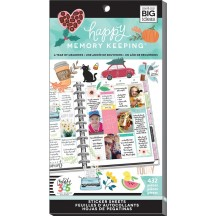 Me & My Big Ideas Happy Memory Keeping BIG Value Pack Stickers A Year Of Memories PPSV63