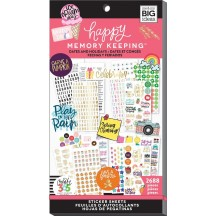 Me & My Big Ideas Happy Memory Keeping BIG Value Pack Stickers Dates and Holidays PPSV64