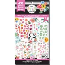 Me & My Big Ideas Create 365 The Happy Planner Fun Florals Value Pack Stickers PPSV-73