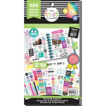 Me & My Big Ideas Create 365 The Happy Planner Gold Star Quotes Value Pack Stickers PPSV-75