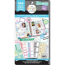 Me & My Big Ideas Create 365 The Happy Planner Colorful Boxes Value Pack Stickers PPSV-77