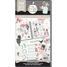 Me & My Big Ideas The Happy Planner Farmhouse Value Pack Stickers PPSV-97