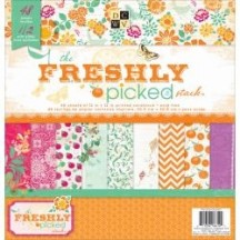 """DCWV The Freshly Picked Stack 12""""x12"""" - 48 sheets PS-005-00320"""