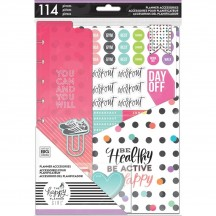 Me & My Big Ideas CLASSIC Happy Planner Multi Planner Accessories Healthy Hero PSAP-09