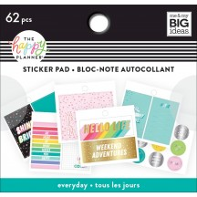Me & My Big Ideas The Happy Planner Tiny Sticker Pad Oh Happy Everyday PTSP-53