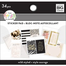 Me & My Big Ideas The Happy Planner Tiny Sticker Pad Wild Styled PTSP-65