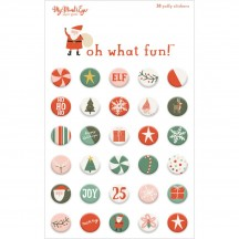 My Minds's Eye Oh What Fun Christmas Puffy Stickers FNC117