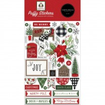 Carta Bella Home for Christmas Puffy Icon Stickers HFC139066