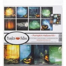 "Reminisce Pumpkin Hallow 12""x12"" Paper Crafting Kit PHA-200"