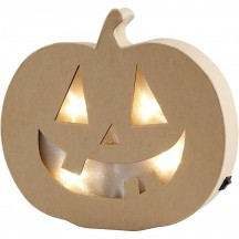 Creativ Halloween Happy Pumpkin Light 56195
