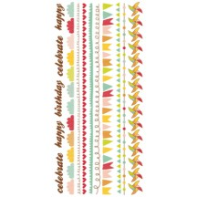 Kaisercraft Save the Date Colour Rub-ons RB970
