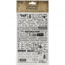 Tim Holtz Idea-ology Specimen Remnant Rubs TH94047