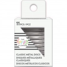 Me & My Big Ideas Create 365 The Happy Planner Medium Silver Metal Disc Rings RINDR-02