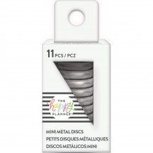 Me & My Big Ideas Create 365 The Happy Planner Mini Silver Metal Disc Rings RINDS-02