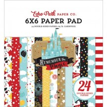"Echo Park Remember the Magic 6""x6"" Double-Sided Paper Pad REM208023"