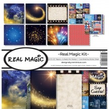 "Reminisce Real Magic 12""x12"" Paper Crafting Kit RMA-200"