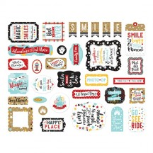 Echo Park Remember the Magic Ephemera Die Cut Cardstock Pieces REM208024