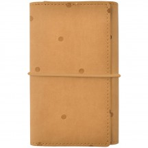 Kaisercraft Tan With Embossed Spots Undated Small Planner SA058