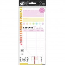 Me & My Big Ideas CLASSIC Happy Planner Half Sheet Savvy Saver Budget Tracker Fill Paper AFSCFP60-003