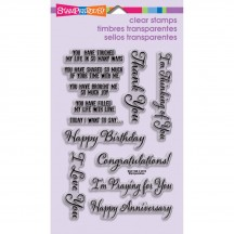 Stampendous Say It Today Clear Stamps SSC1190
