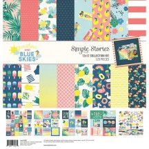 "Simple Stories Sunshine and Blue Skies 12""x12"" Collection Kit 10607"