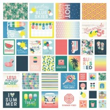 Simple Stories Sunshine and Blue Skies Sn@p! Pocket Card Pack 10627