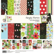 "Simple Stories Say Cheese Christmas 12""x12"" Collection Kit 11500"