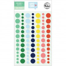 Pinkfresh Studio Super Cool Enamel Dots PFRC701019
