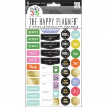 Me & My Big Ideas Create 365 The Happy Planner School - College Stickers PPS-63